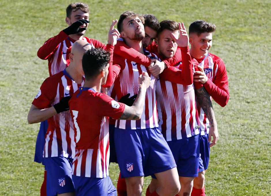 Temporada 18/19 | Atlético B - Unionistas | Celebración