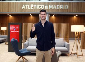 Temp. 18-19. Bienvenido Álvaro Morata. Wanda Metropolitano oficinas