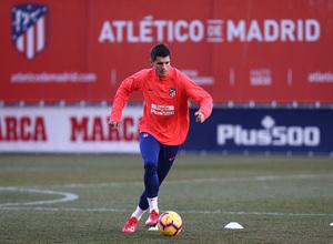 Temp. 18-19. Primer entrenamiento de Álvaro Morata