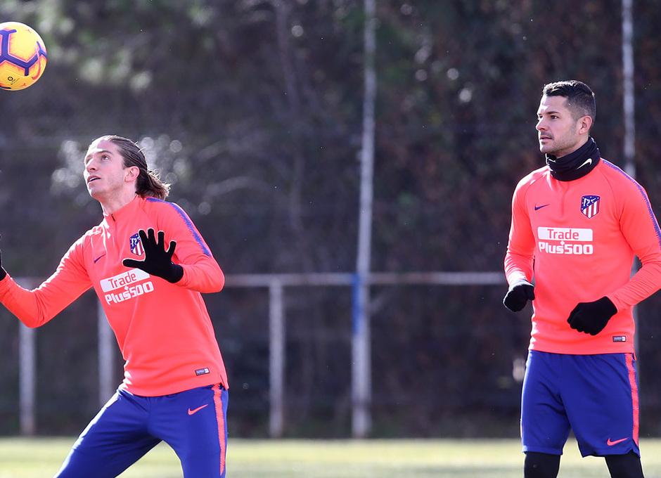 Temporada 18/19 | Entrenamiento | Filipe y Vitolo