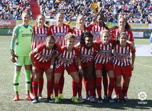 Temporada 18/19 | Granadilla - Atlético de Madrid Femenino | Once inicial | LaLiga