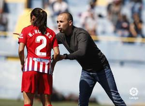 Temporada 18/19 | Granadilla - Atlético de Madrid Femenino | Sánchez Vera y Kenti Robles | LaLiga