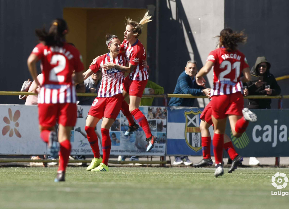 Temporada 18/19 | Granadilla - Atlético de Madrid Femenino | Gol de Jenni Hermoso | LaLiga