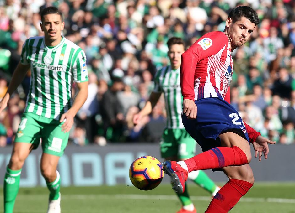 Temporada 18/19 | Real Betis - Atlético de Madrid | Morata