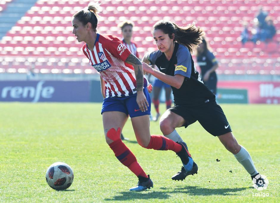 Temp 2018-2019   Atlético de Madrid Femenino - Sevilla   Sosa