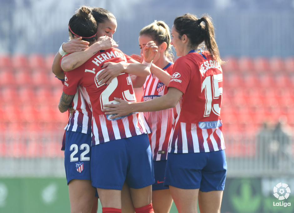 Temp 2018-2019 | Atlético de Madrid Femenino - Sevilla | Celebración