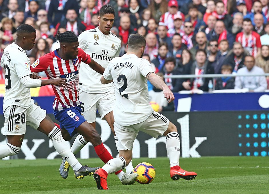 Temporada 18/19 | Atlético de Madrid - Real Madrid | Thomas