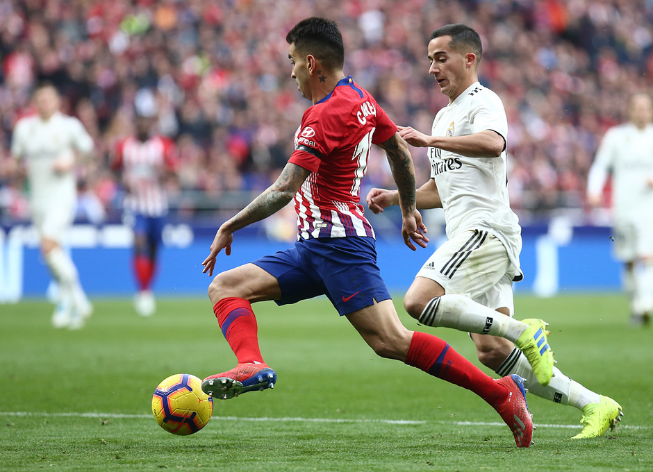 Temporada 18/19 | Atlético de Madrid - Real Madrid | Correa