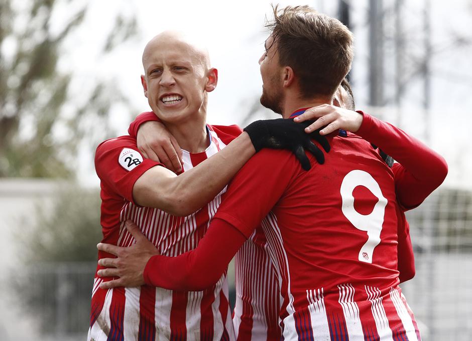 Temporada 18/19 | Atlético de Madrid B - Navalcarnero | Celebración