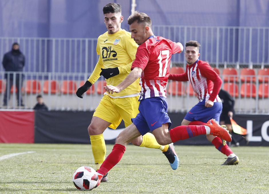 Temporada 18/19 | Atlético de Madrid B - Navalcarnero | Óscar Clemente
