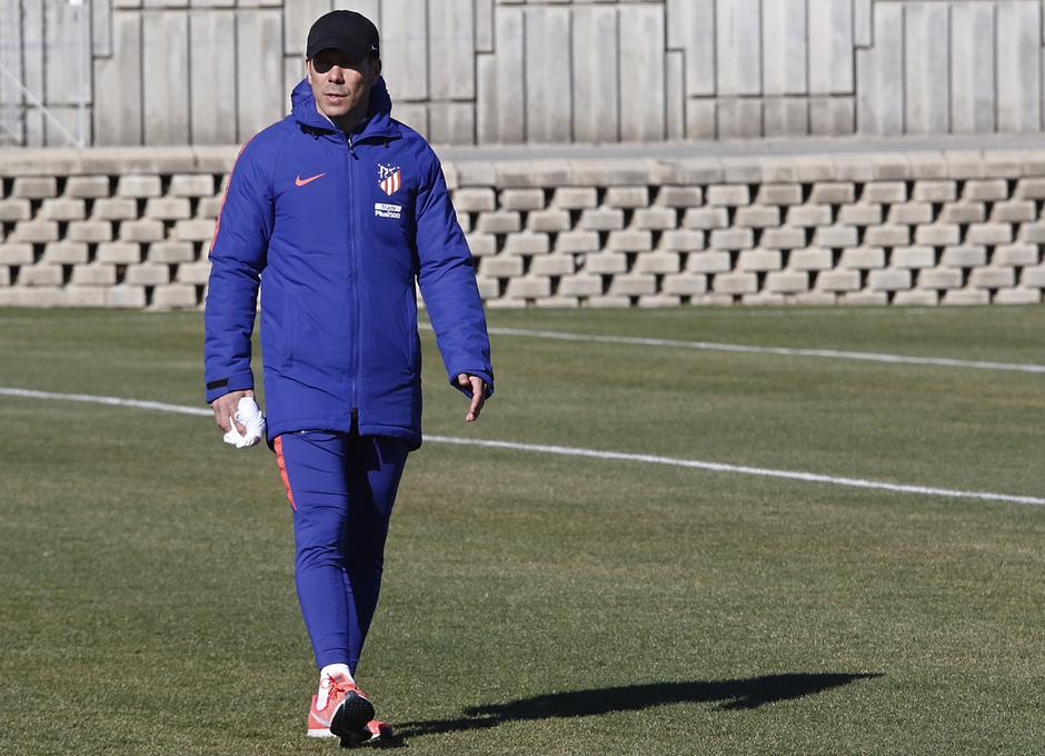 Temporada 18/19 | Entrenamiento del primer equipo | 12/02/2019 | Simeone