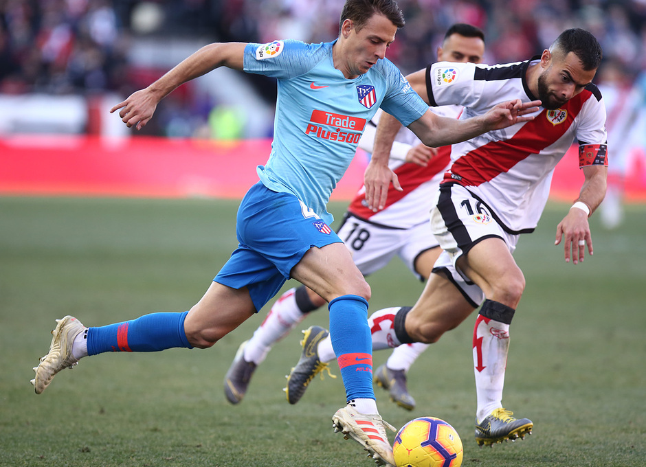 Temporada 18/19 | Rayo Vallecano - Atlético de Madrid | Arias
