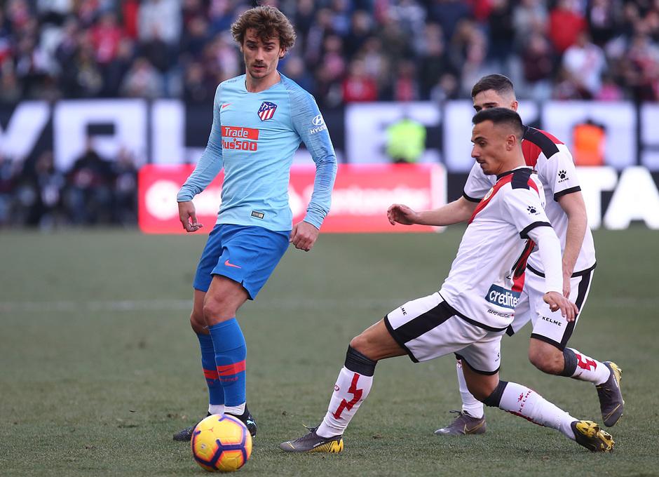 Temporada 18/19 | Rayo Vallecano - Atlético de Madrid | Griezmann