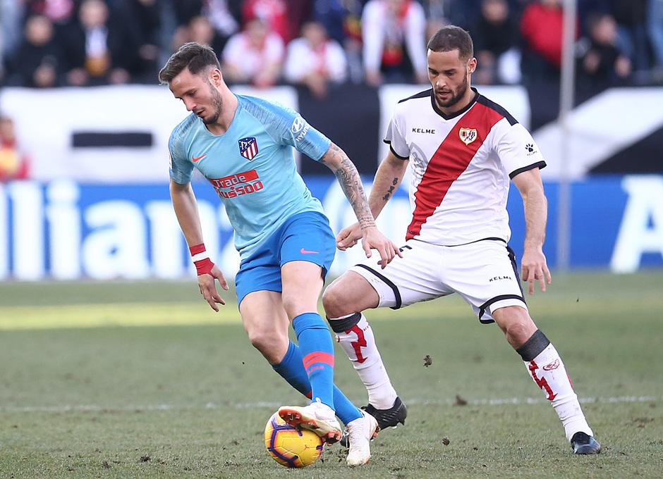 Temporada 18/19 | Rayo Vallecano - Atlético de Madrid | Saúl