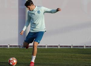 temporada 18/19 | Entrenamiento en la ciudad deportiva Wanda | Morata