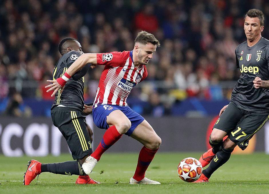 Temp. 18-19   Atlético de Madrid - Juventus   Saúl
