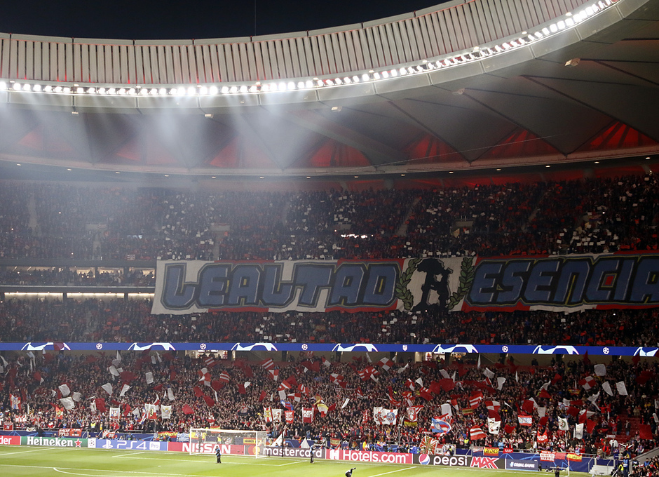 Temp. 18-19   Atlético de Madrid - Juventus   Wanda Metropolitano