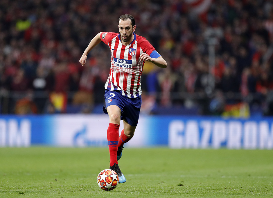 Temp. 18-19   Atlético de Madrid - Juventus   Diego Godín