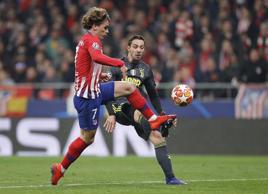 Temp. 18-19   Atlético de Madrid - Juventus   Griezmann