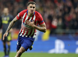 Temp. 18-19 | Atlético de Madrid - Juventus | Giménez celebración