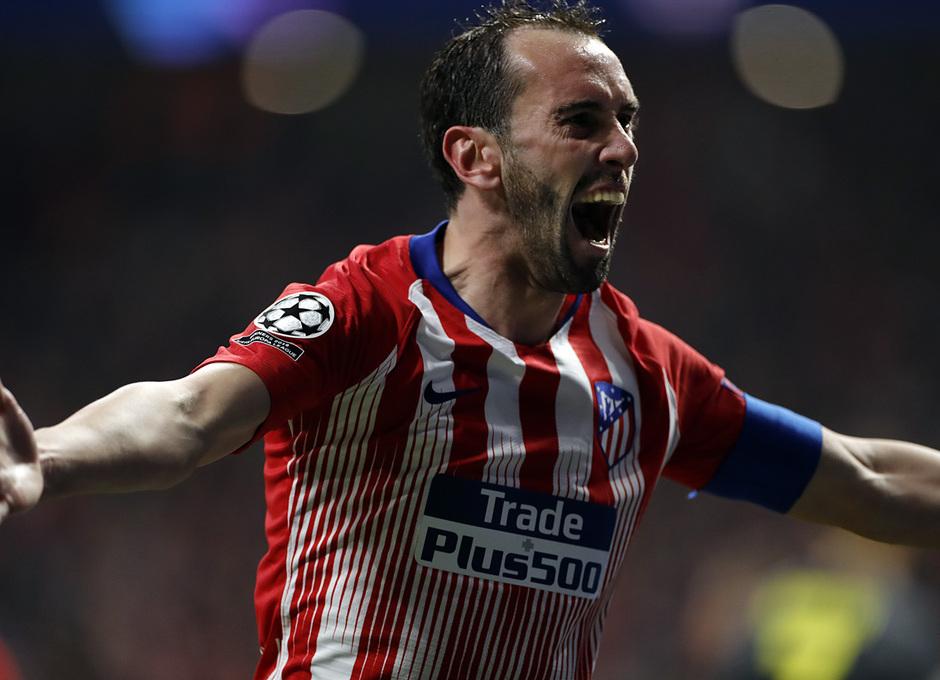 Temp. 18-19 | Atlético de Madrid - Juventus | Godín celebración