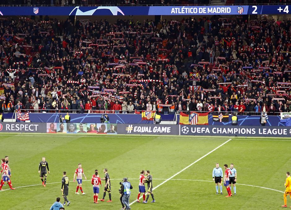 Temp. 18-19   Atlético de Madrid - Juventus   Afición Wanda Metropolitano