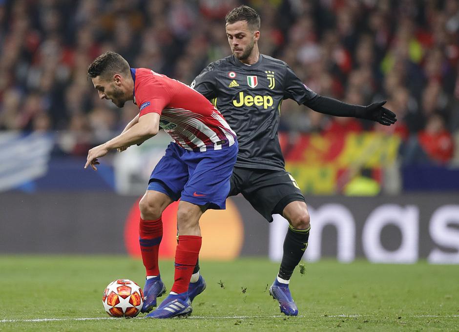 Temp. 18-19 | Atlético de Madrid - Juventus | Koke