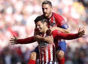 Temporada 18/19 | Atlético de Madrid - Villarreal | Morata y Koke