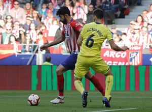 Temporada 18/19 | Atlético de Madrid - Villarreal | Diego Costa