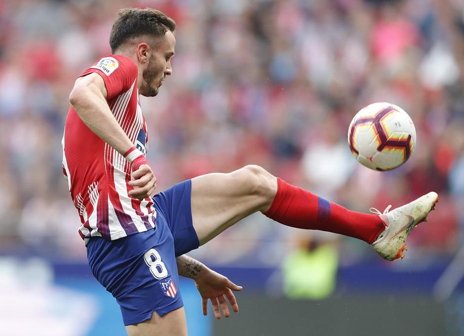 Temporada 18/19 | Atlético de Madrid - Villarreal | Saúl