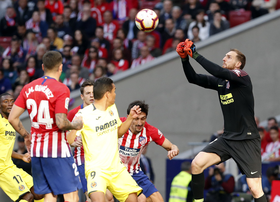 Temporada 18/19 | Atlético de Madrid - Villarreal | Oblak