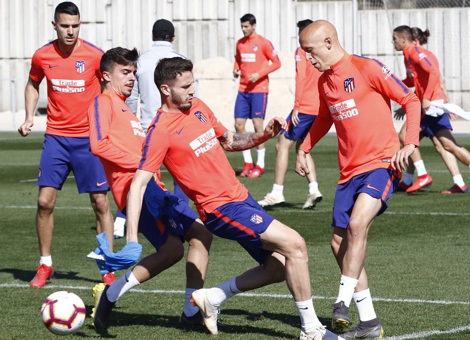 Temporada 18/19 | Entrenamiento del primer equipo | 02/03/2019 | Mollejo