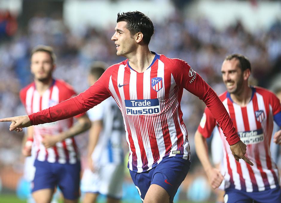 Temporada 18/19 | Real Sociedad - Atlético de Madrid | Morata