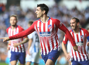 Temporada 18/19   Real Sociedad - Atlético de Madrid   Morata