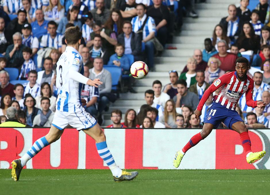 Temporada 18/19   Real Sociedad - Atlético de Madrid   Lemar