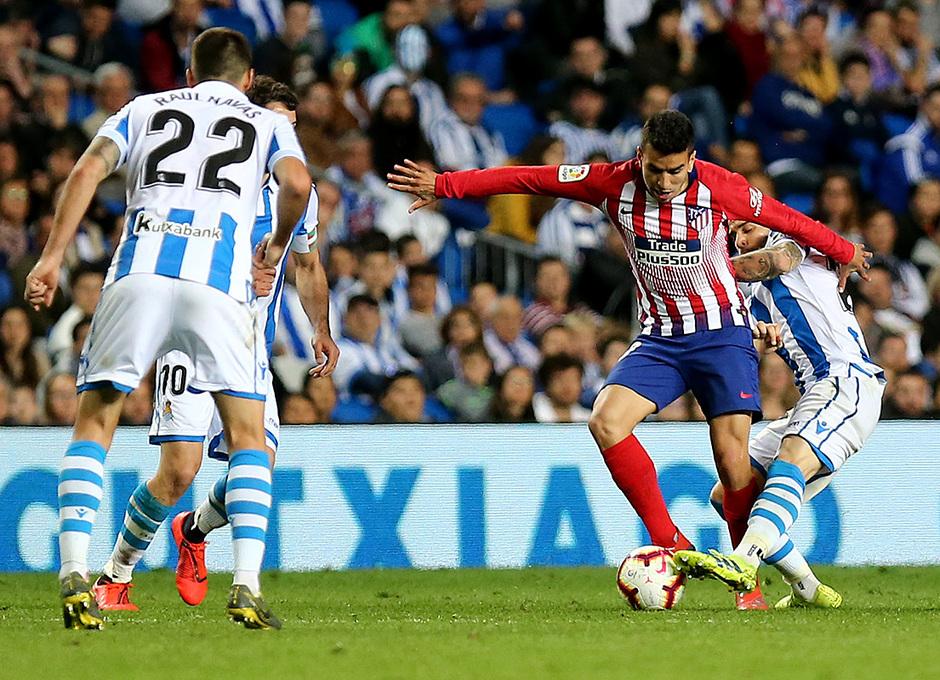 Temporada 18/19 | Real Sociedad - Atlético de Madrid | Correa