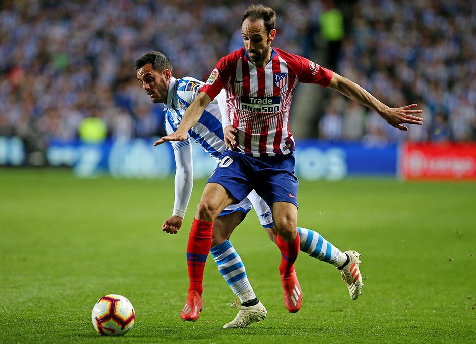 Temporada 18/19 | Real Sociedad - Atlético de Madrid | Juanfran