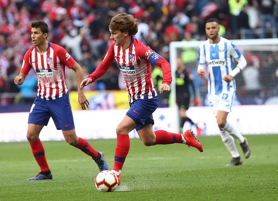 Temporada 18/19 | Atlético de Madrid - Leganés | Griezmann