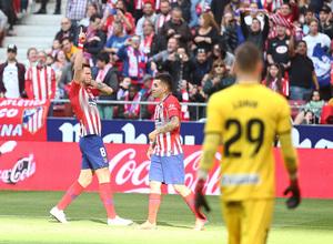 Temporada 18/19 | Atlético de Madrid - Leganés | Saúl