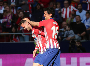 Temporada 18/19 | Atlético de Madrid - Leganés | Celebración de Saúl