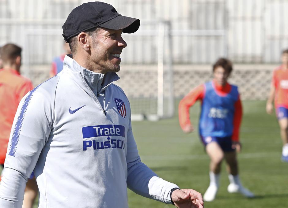 Temporada 18/19 | Entrenamiento del primer equipo | 10/03/2019 | Simeone