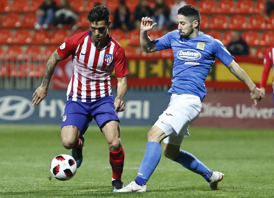 Temporada 18/19 | Atlético de Madrid B - Fuenlabrada | Samu