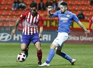 Temporada 18/19   Atlético de Madrid B - Fuenlabrada   Samu