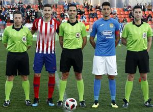 Temporada 18/19   Atlético de Madrid B - Fuenlabrada   Tachi