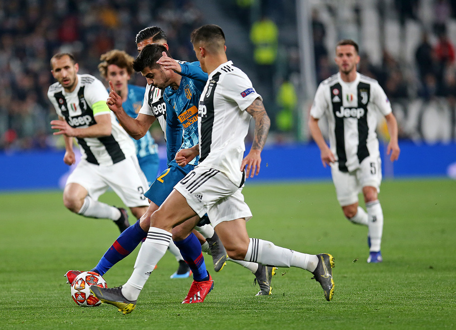 Temporada 18/19   Champions League   Juventus - Atleti  