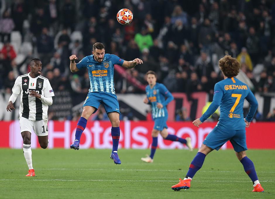 Temporada 18/19   Juventus - Atlético de Madrid   Koke y Griezmann