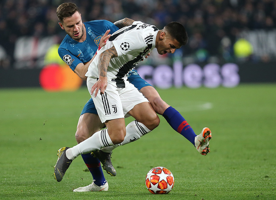 Temporada 18/19   Juventus - Atlético de Madrid   Saúl