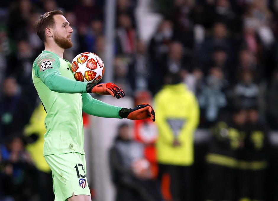 Temporada 18/19 | Juventus - Atlético de Madrid | Oblak