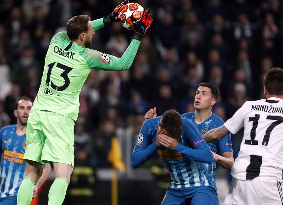 Temporada 18/19   Juventus - Atlético de Madrid   Oblak