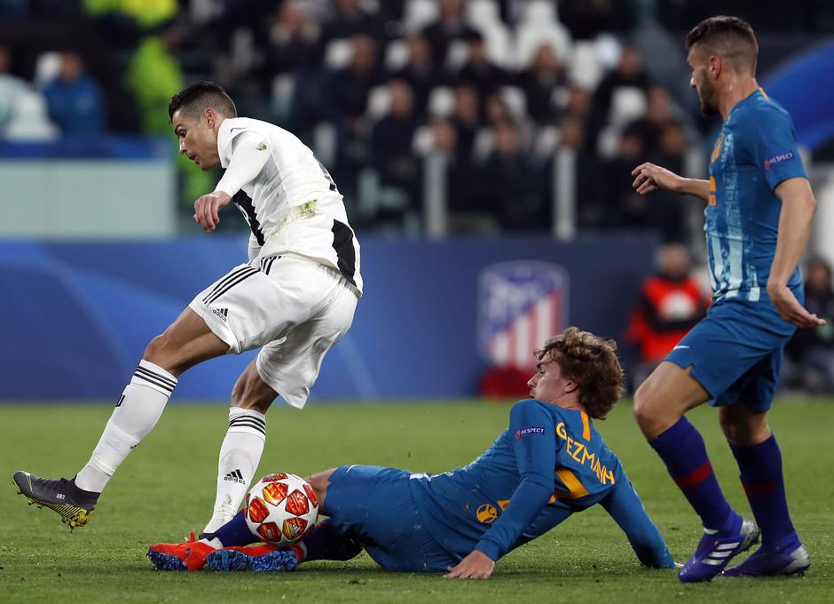 Temporada 18/19 | Juventus - Atlético de Madrid | Griezmann